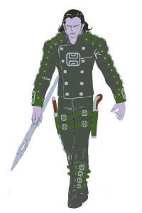 eComic Concept Art: Sylen Benevolen 2E