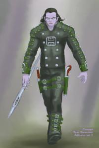 eComic Concept Art Sylen Benevolen V2H