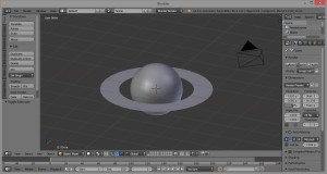 Planetary Rings in Blender 1
