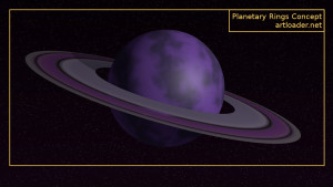 Planetary Rings In Blender 5