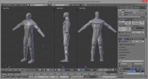 3D human figure model