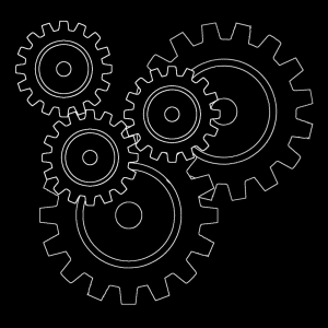 Cog Wheel Pattern