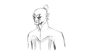Dark Acolyte Concept Sketch