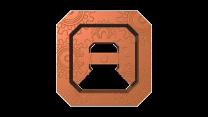Steampunk Bronze Logo
