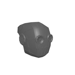 Steampunk Helmet 3D Model