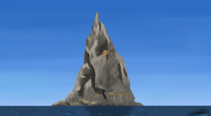 Basalt Island Digital Painting Study Part 2