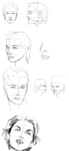 FemaleFaceSketching
