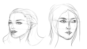 FemaleFaceSketching4C