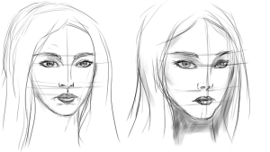 FemaleFaceSketching4D
