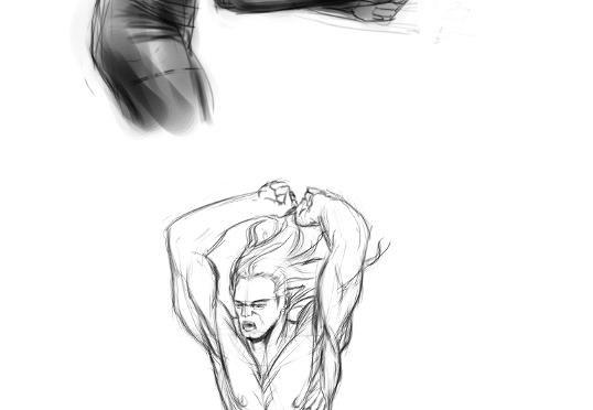 Anatomy Practice: Crouching and Diving