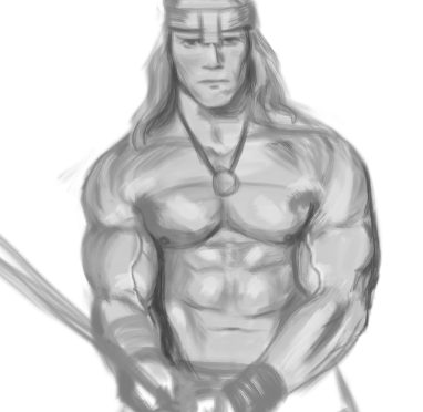 Conan The Barbarian Sketch