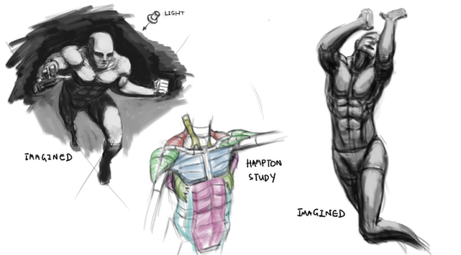 Figure Sketches With Values 6th October