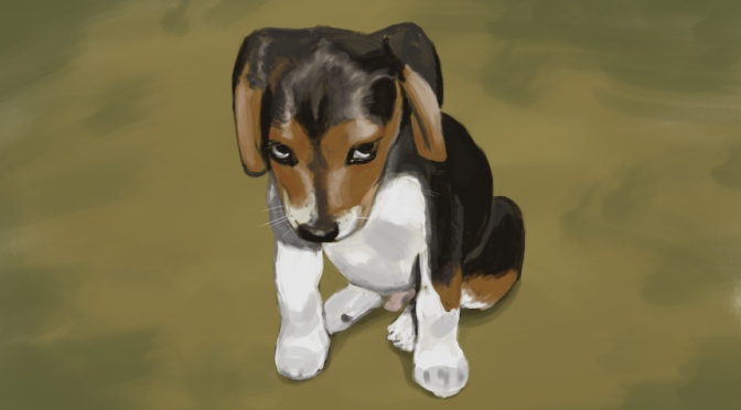Project JKF-1: Dog Painting Study