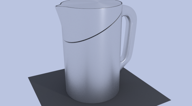 Project JKF-1: Kettle Design Using 3D Modelling In Blender